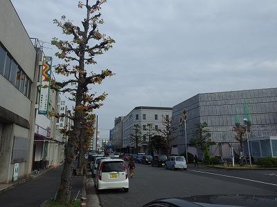 岡山問屋町の街並み