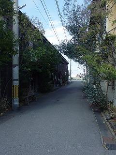 北浜アリー裏道
